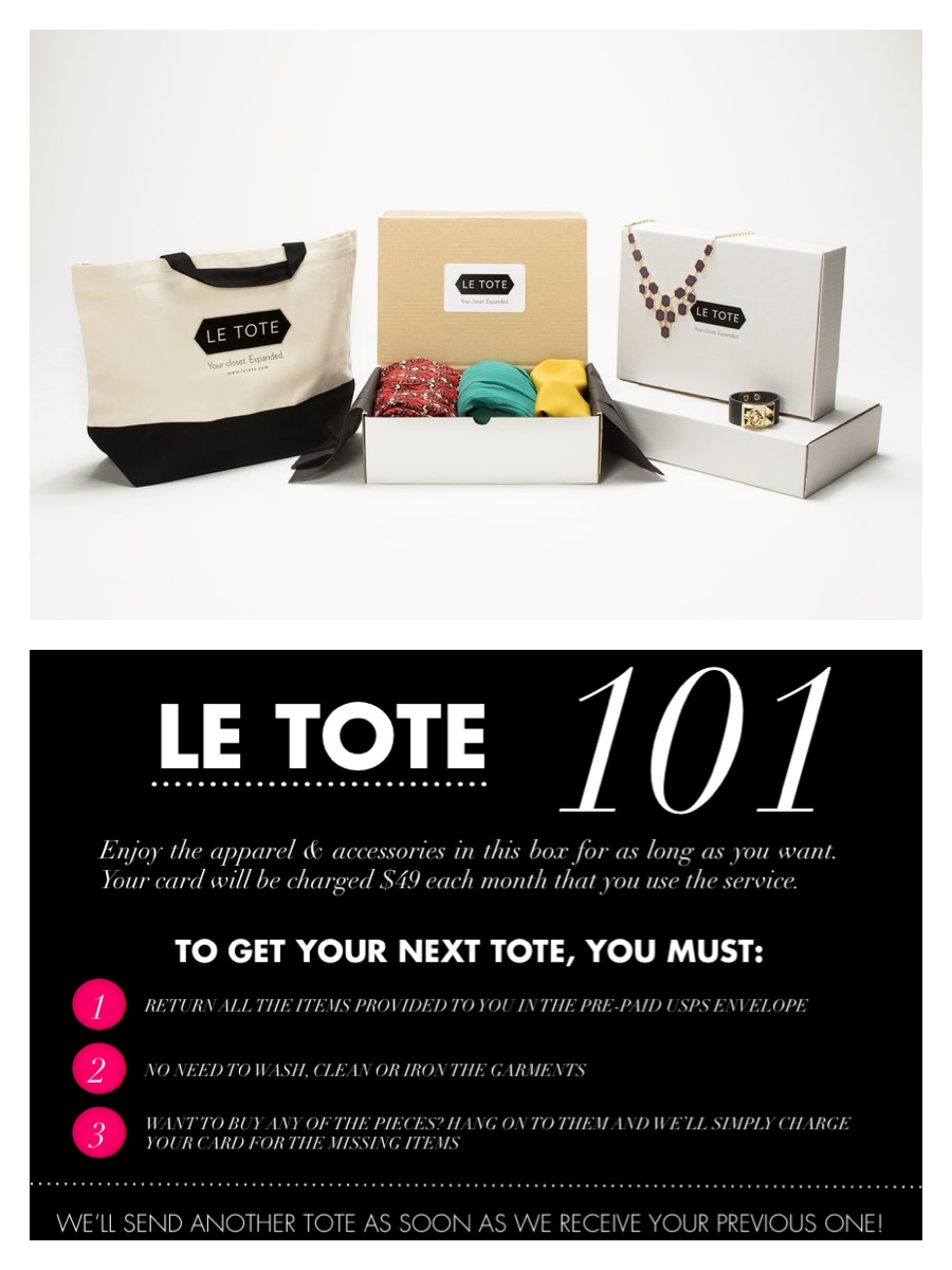 Le tote coupon code
