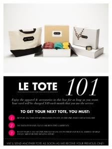 Le Tote 101