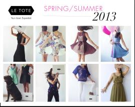 Le Tote Spring 2013