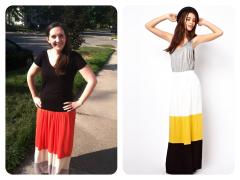 Le Tote   Maxi Skirt